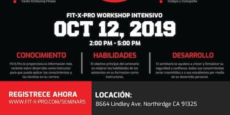 Fit X Pro Workshop Intensivo tickets