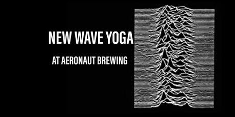New Wave Yoga at Aeronaut Brewing Co. tickets