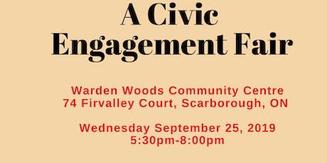 Community Civic Engagement Fair tickets