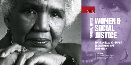 Women & Social Justice - Sixth Annual Rosemary Brown Memorial Symposium tickets