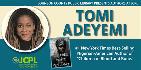 Authors at JCPL Presents: Tomi Adeyemi tickets