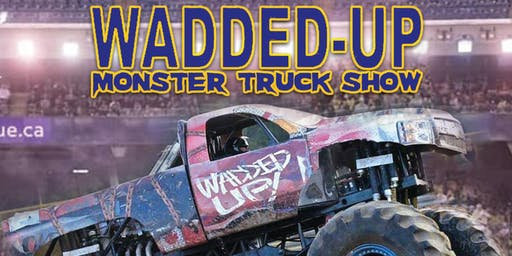 WADDED UP MONSTER TRUCK SHOW CORNWALL MOTOR SPEEDWAY