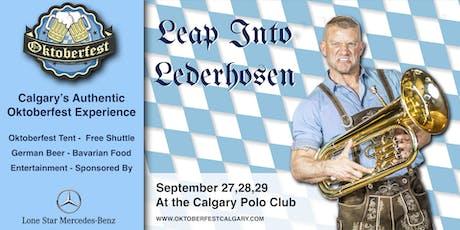 Oktoberfest Calgary tickets