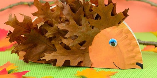 Toddler Time: Fall Crafts