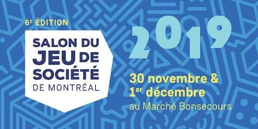 Salon du jeu de société de Montréal 6e éd.