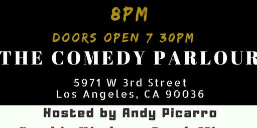 The Comedy Parlour - September