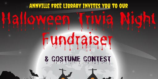 Annville Free Library's Halloween Trivia Night & CostumeContest