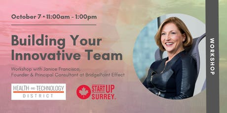 Building Your Innovative Team • Workshop with BridgePoint Effect tickets