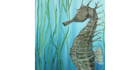 Brush Strokes For the Bays at Cowfish: Paint Nights for a Purpose! ~Seahorse tickets