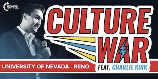 Culture War at University of Nevada - Reno