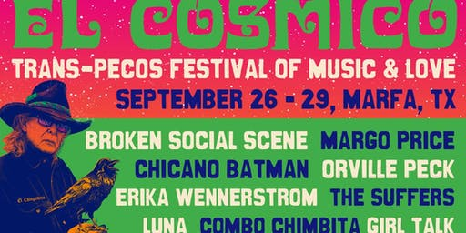Trans-Pecos Festival Of Music + Love 2019