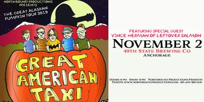 GREAT AMERICAN TAXI Featuring Vince Herman