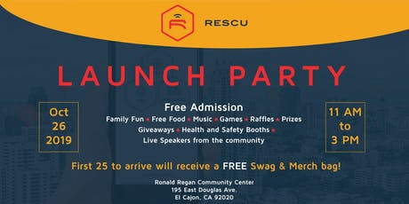 Rescu Launch Party tickets
