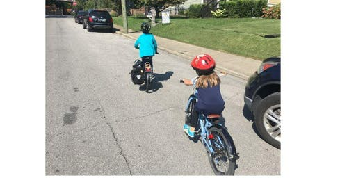 Family Ice cream Ride: Learn how to ride safely as a family with kids