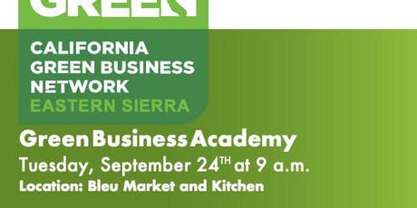 Eastern Sierra Green Business Academy tickets