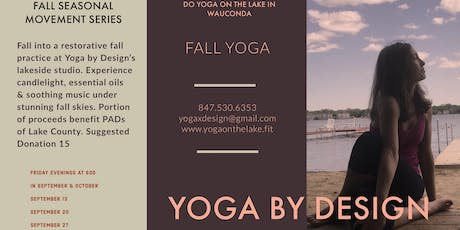 Fall Yoga: A Seasonal Movement Series tickets