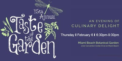 15th Annual Taste of the Garden