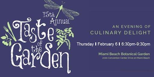 15th Annual Taste of the Garden