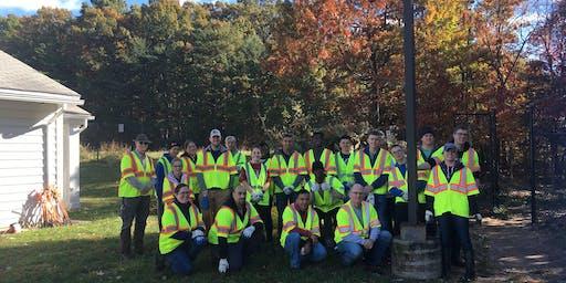 Quantico Single Marine Program (SMP) Volunteer - Cemetery Clean-Up Volunteer Event