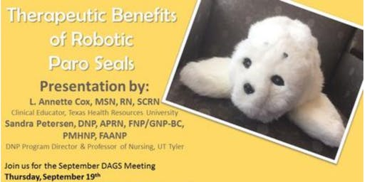 September 2019 DAGS Meeting | Robotic Paro Seals