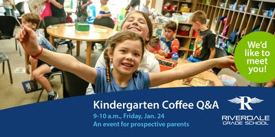 2020 Kindergarten Coffee Q&A for Parents