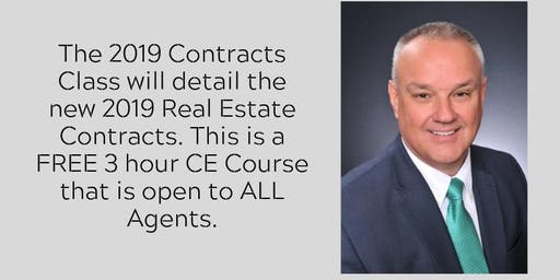 2019 Contracts Class with David Maxey