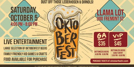 Oktoberfest - Beer Festival & Live Entertainment tickets