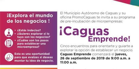 Talleres Empresariales Caguas Emprende 2019 tickets