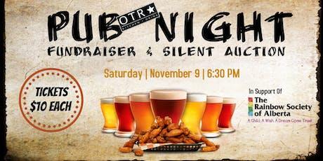 Pub Night Fundraiser & Silent Auction tickets