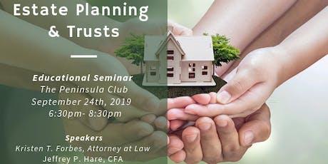 Estate Planning & Trusts tickets