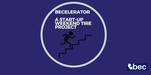 BECelerator A start-up Weekend