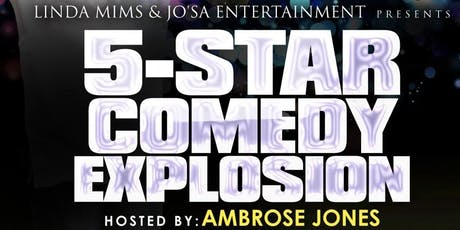 5 Star Comedy Explosion by Linda Mims tickets