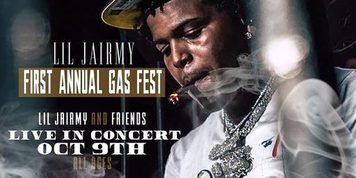"""Gas Fest """"Lil Jairmy"""" and Friends Live!"""