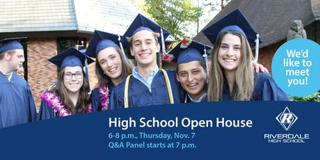 Riverdale High School Open House 2019 tickets