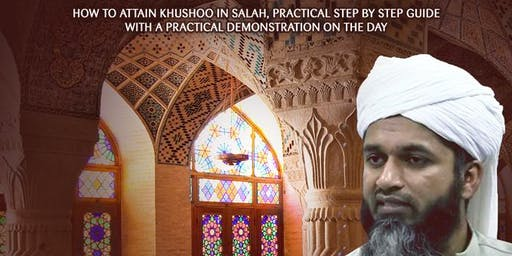 Salah and Khushu: FREE Seminar in Birmingham with Shaykh Hasan Ali!
