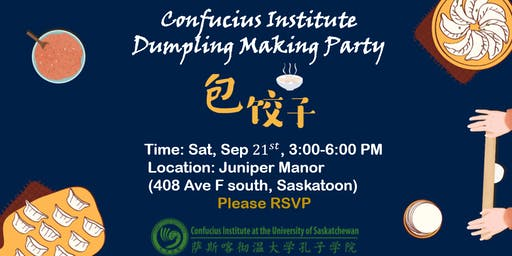 Confucius Institute Dumpling Making Party