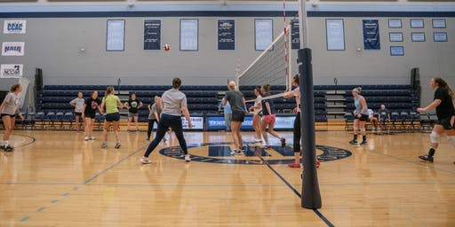 Alumni Volleyball Reunion and Scrimmage