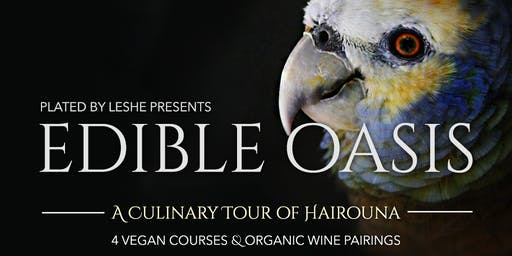 Edible Oasis - A Culinary Tour of Hairouna (Dinner Party)
