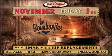 The Bourbonites at Moe's Original BBQ Englewood tickets