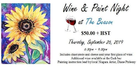 Wine & Paint Night at The Beacon (Sept 26) tickets
