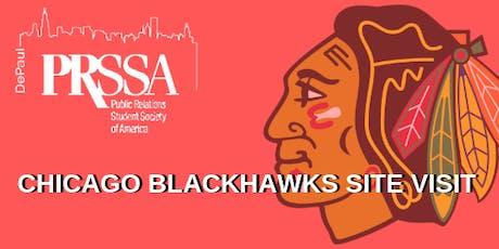 PRSSA Site Visit To The Chicago Blackhawks tickets