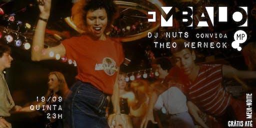 19/09 - EMBALO: DJ PG E DJ THEO WERNECK NO MUNDO PENSANTE