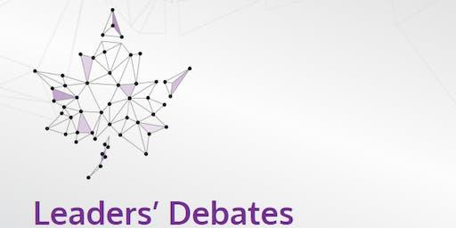 Canadian Leaders' Debate Watch Party
