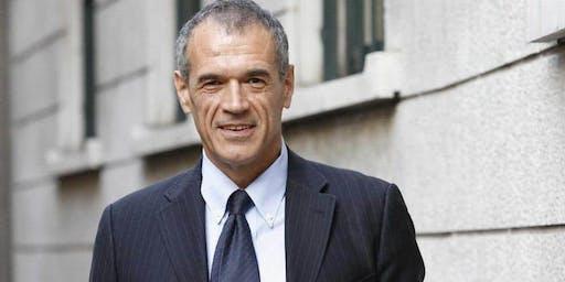 Cena dibattito con Carlo Cottarelli