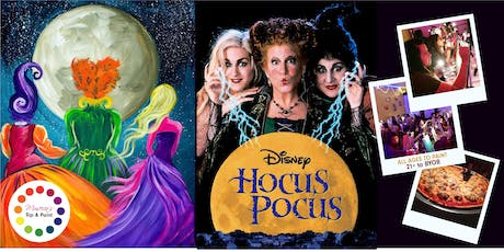 Museica's BYOB Dine & Paint Night - HOCUS POCUS (Pizza & movie screening included!) tickets