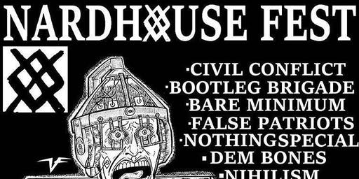 Sept 17th Nardhouse Fest! Local bands in one Venue on a Tuesday!!
