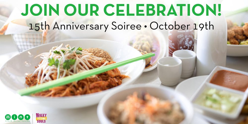 Asian Mint Soiree at Forest Lane Tickets, Sat, Oct 19, 2019