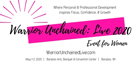 Warrior Unchained: Live 2020 tickets