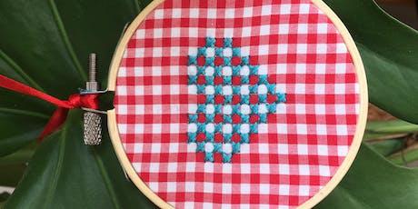 Kids Sewing Workshop - Cross Stitch Heart tickets