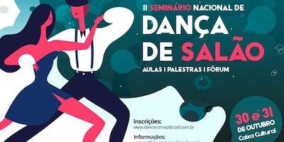 Seminário Nacional de Dança de Salão 2019 - Aula 3 - Prática Salsa - 31/10/19 - 17:30 - 18:20